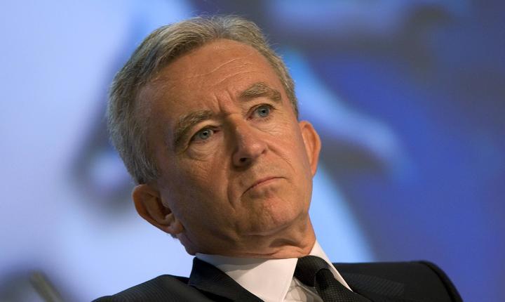 Bernard Arnault, fondatorul si patronul gigantului de lux LVMH, cel mai bogat francez cu un patrimoniu estimat la 34 miliarde de euro