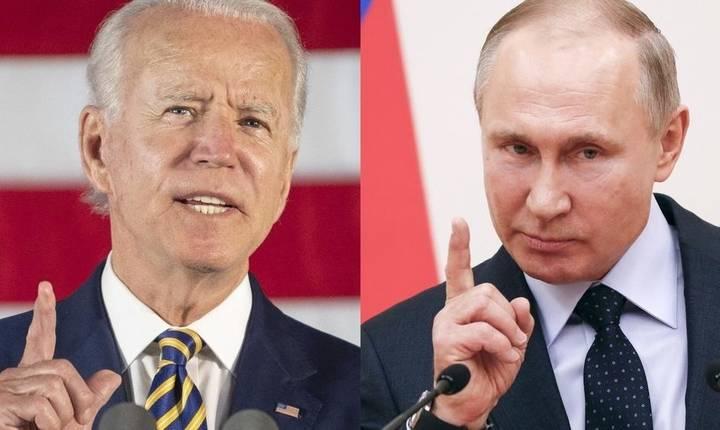 Joe Biden și Vladimir Putin așteptaţi la Geneva pe 16 iunie 2021.