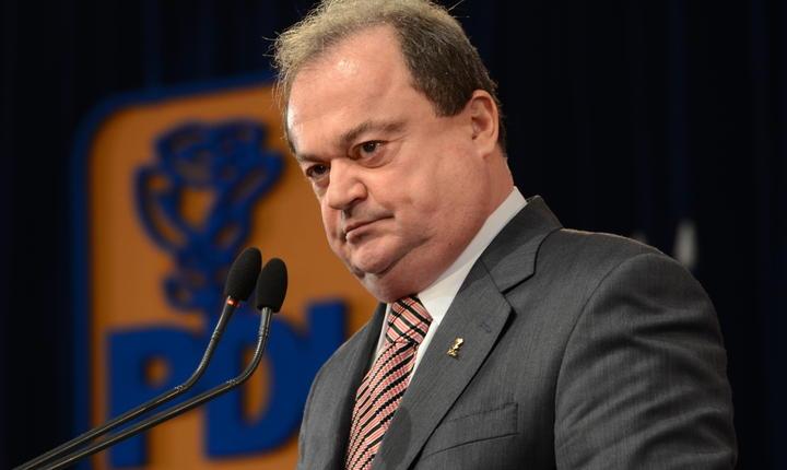 Vasile Blaga a anunţat că PNL renunţă la lanţul uman care urma să fie organizat la Palatul Parlamentului