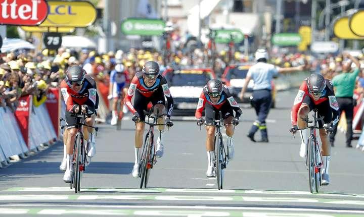 BMC Racing trece linia de sosire la Cholet