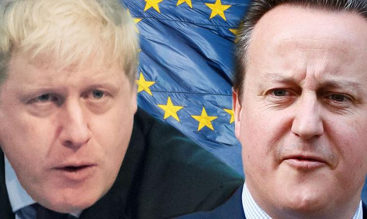 Boris Johnson și David Cameron