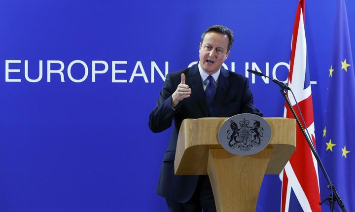 Premierul britanic, David Cameron (Foto: Reuters/Yves Herman)