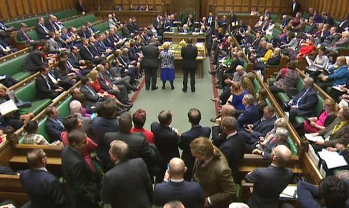Vot în Camera Comunelor