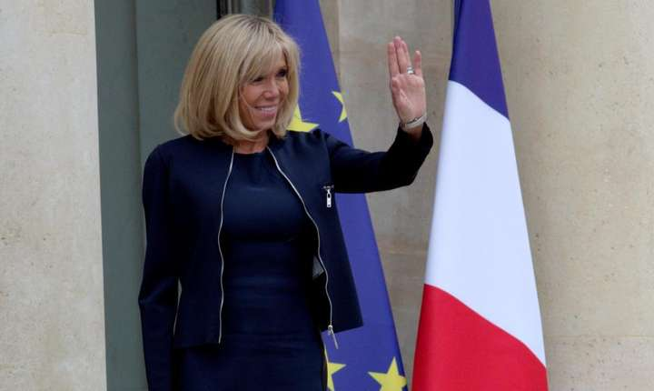 Brigitte Macron - sotia presedintelui Frantei, Emmanuel Macron