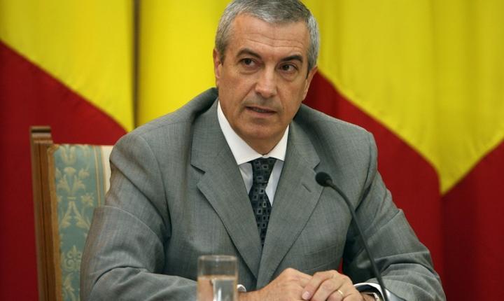 Co-preşedintele ALDE, şeful Senatului, Călin Popescu Tăriceanu