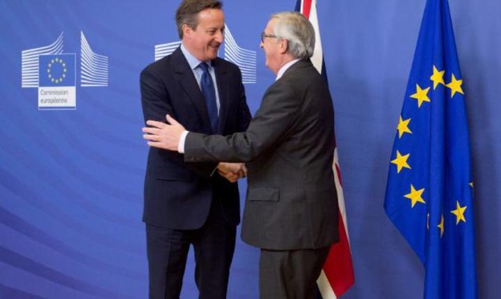 David Cameron Bruxelles 2016