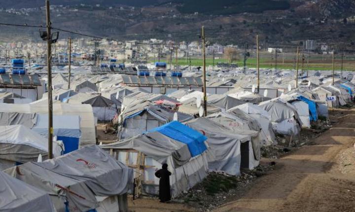 Tabara de refugiati de la Kahramanmaras, Turcia