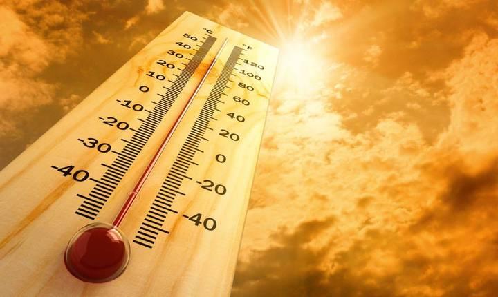 Temperaturile vor fi situate între 36 - 39 de grade, posibil izolat 40 de grade