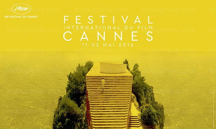 Afisul celei de-a 69-a editii a festivalului de film de la Cannes