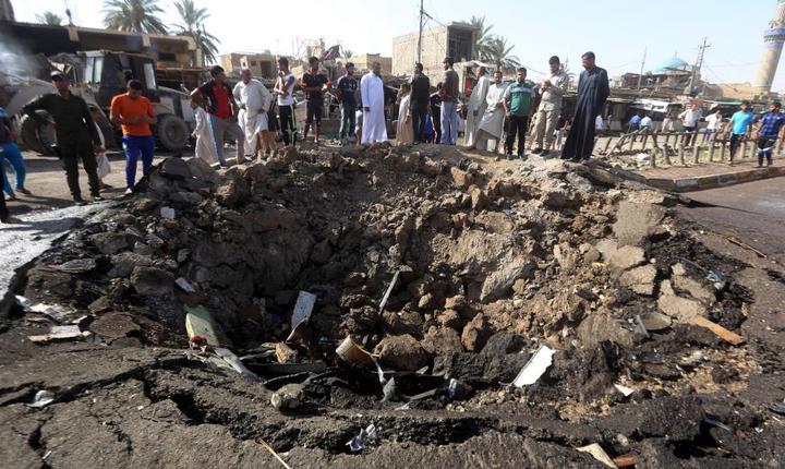 Atentat în Irak (Foto: AFP/Ahmad Al-Rubaye)