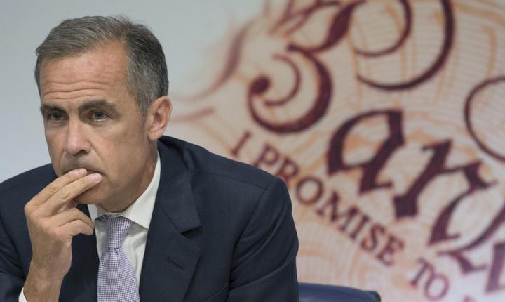 Guvernatorul Băncii Angliei, Mark Carney