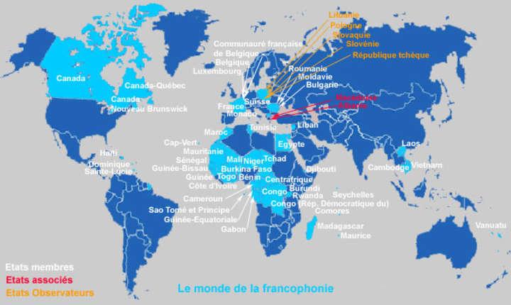 Lumea francofona.