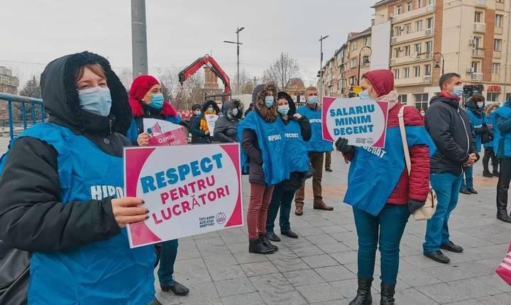 Proteste sindicale, din cauza înghețării veniturilor bugetarilor (Sursa foto: Facebook/Cartel Alfa)
