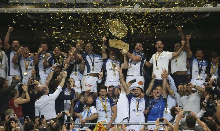 Castres - campioni ai Franței 2017 - 2018