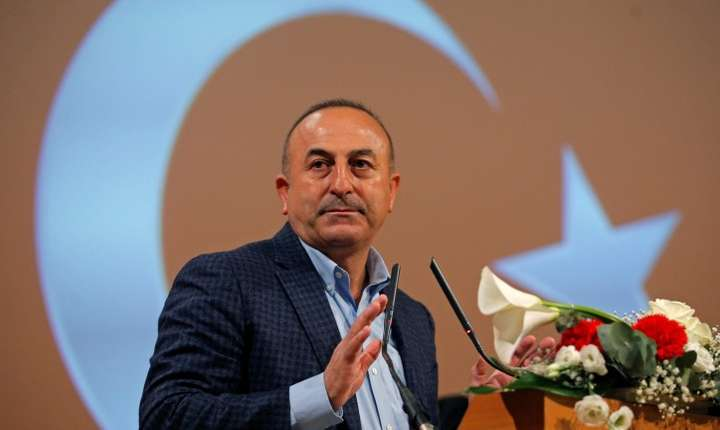 Mevlut Cavusoglu, ministrul turc de externe, a participat duminică la un miting electoral la Metz în estul Franţei