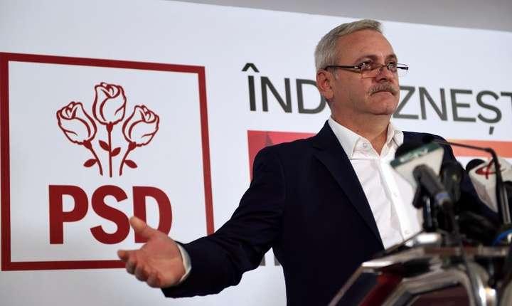 Liviu Dragnea nu poate fi premier (Foto: AFP/Daniel Mihăilescu)