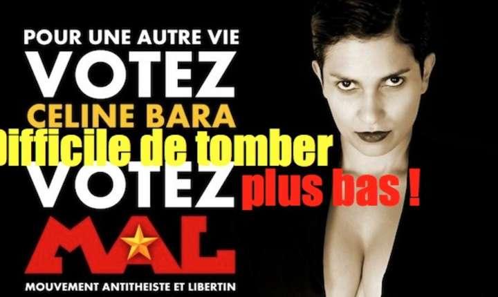 Céline Bara, actrità porno, candideazà la legislativele franceze din 11 si 18 iunie 2017