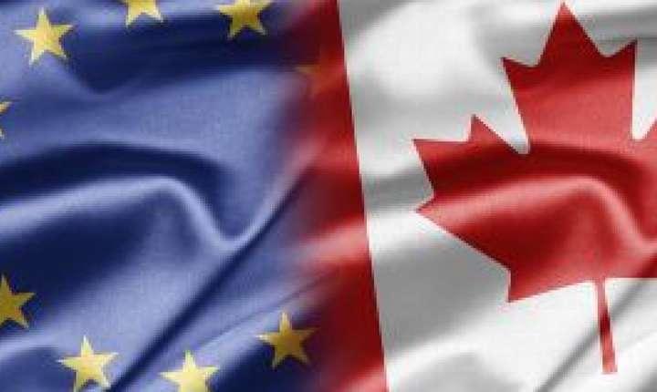 CETA priveşte 510 milioane de europeni şi 35 de milioane de canadieni. Tratatul elimină taxele vamale pentru 98% din produsele importate ori exportate de cele două părţi.