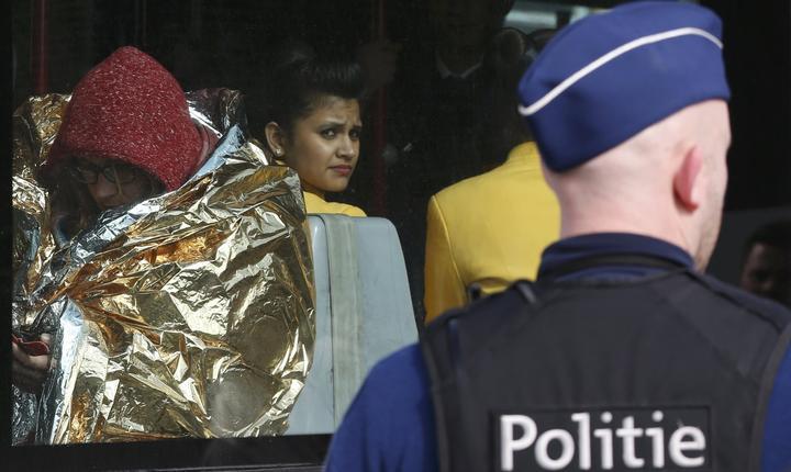Măsuri de securitate, la aeroportul Zaventem din Bruxelles (Foto: Reuters/Francois Lenoir)