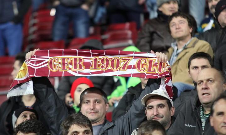 Suporteri ai echipei CFR Cluj (Foto: www.cfr1907.ro)