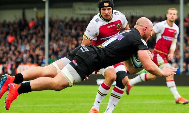 Exeter Chiefs 40 Northampton Saints 21