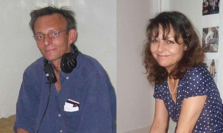 Claude Verlon si Ghislaine Dupont