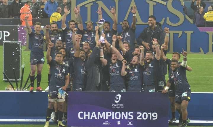 Clermont Auvergne - câștigătoarea Challenge Cup