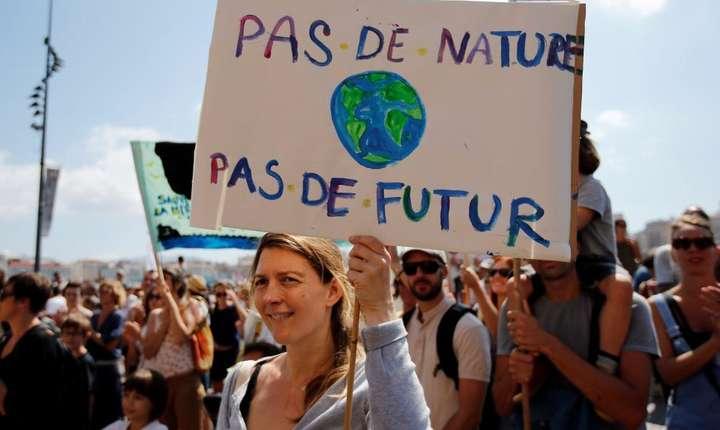 Manifestaţie ecologistă la Marsilia, 8 septembrie 2018