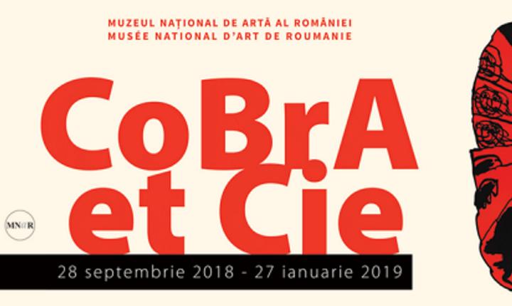 """Expoziția de artă grafică """"Cobra et Cie"""" la MNAR"""