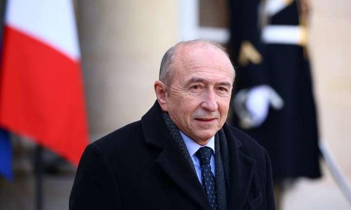 Gérard Collomb, ministrul francez de interne, a fost unul dintre primii sustinàtori ai lui Emmanuel Macron