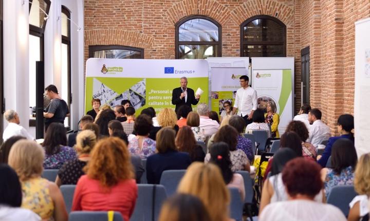 """CONCORDIA Academia - Conferința finală a Proiectului """"Personal specializat pentru servicii sociale de calitate în Europa de Est"""""""