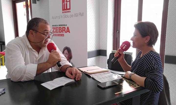 Constantin Chiriac invitat la RFI la emisiunea Zebra a Mihaelei Dedeoglu