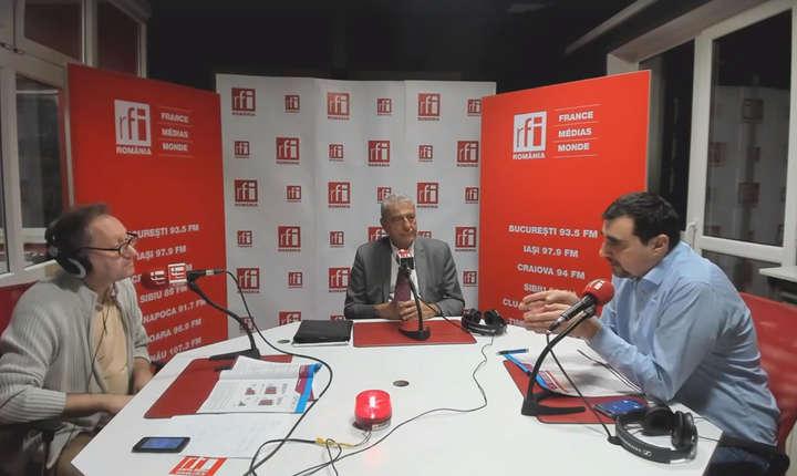 Constantin Rudnitchi, Cristian Pârvan şi Sorin Pâslaru la radio