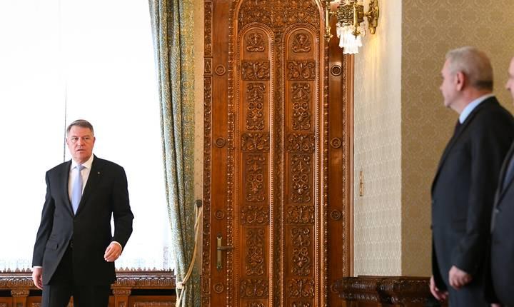 Klaus Iohannis discută al treilea guvern PSD - ALDE