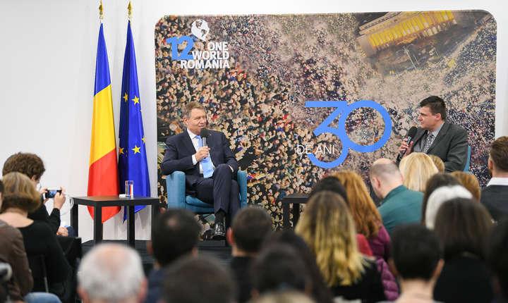 Președintele Klaus Iohannis se consultă marți la Cotroceni cu ONG-urile pe tema referendumului (Sursa foto: presidency.ro)