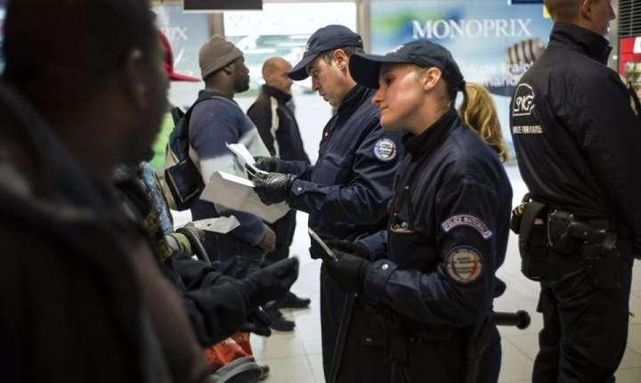 Controale de politie la Gara de nord din Paris