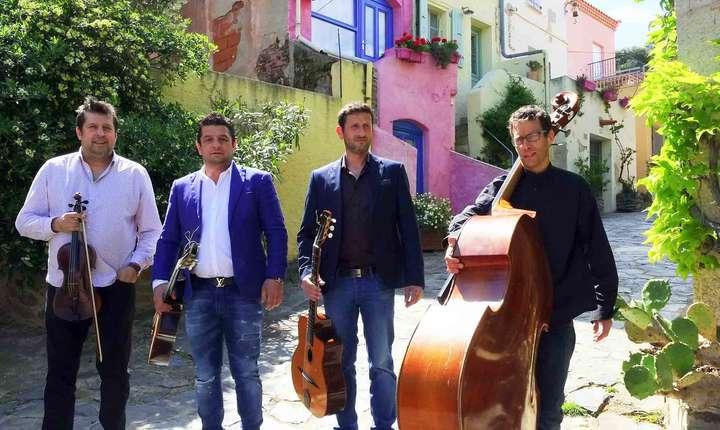 Trio Steeve Laffont (al doilea din stânga) împreunà cu Costel Nitescu (primul din stânga)