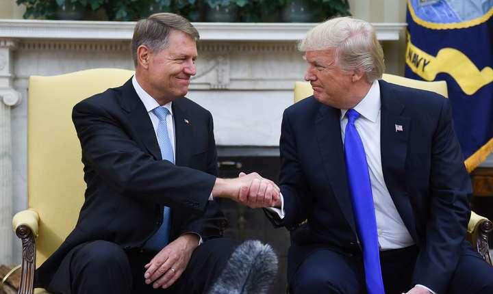 Klaus Iohannis, primit de Donald Trump la Casa Albă (Sursa foto: www.presidency.ro)