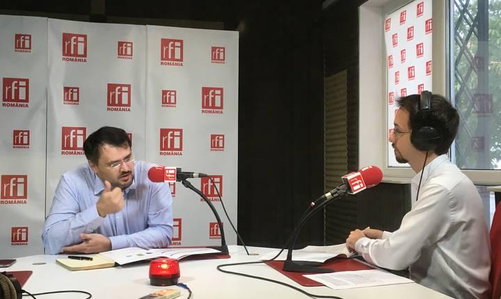 Cristian Ghinea, în studioul RFI România