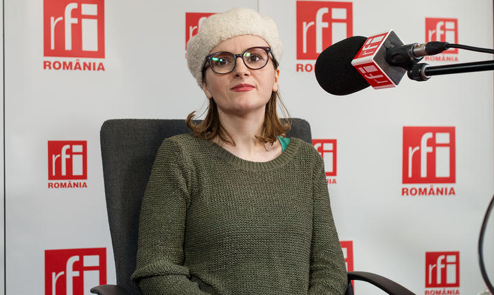 Aliona Jubîrcă-Varga, PR manager la Asociaţia Vegetarienilor din România