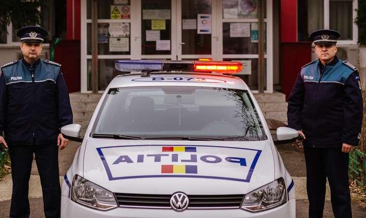 Cât de relevant e testul psihologic pentru poliţişti? (Sursa foto: Facebook/Poliţia Română)