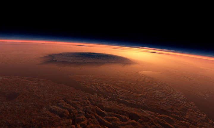 Straturi de gheaţă, descoperite pe planeta Marte