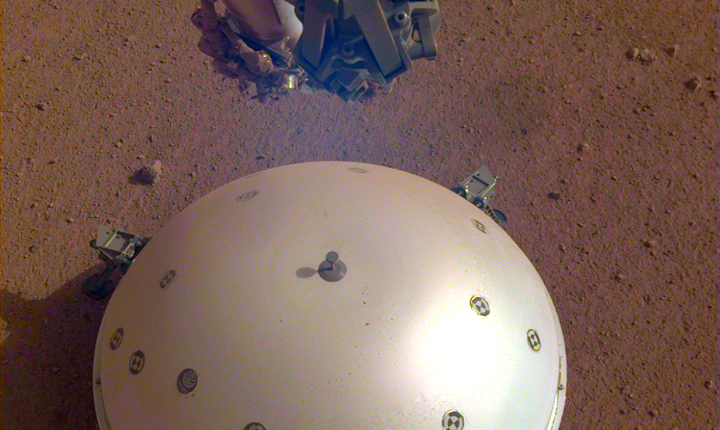 NASA a detectat un cutremur pe Marte (Sursa foto: site NASA)