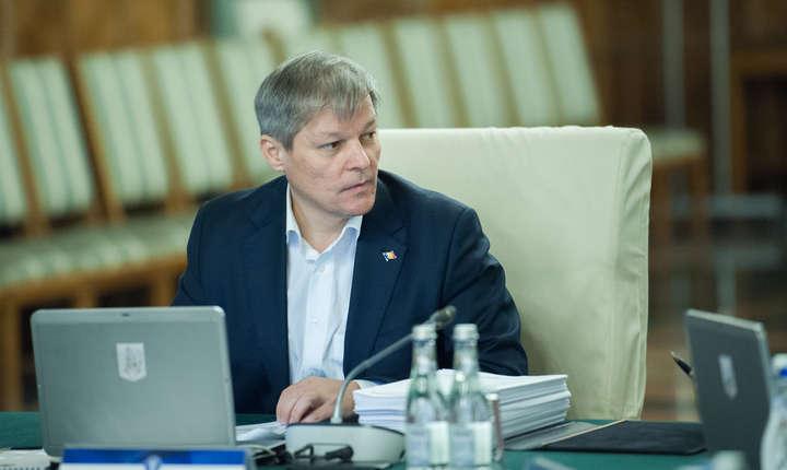Fostul premier Dacian Cioloş (Sursa foto: www.gov.ro)