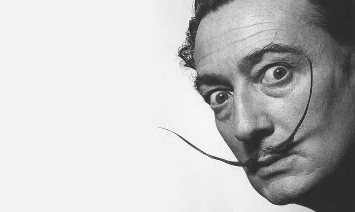 Pictorul suprarealist Salvador Dali