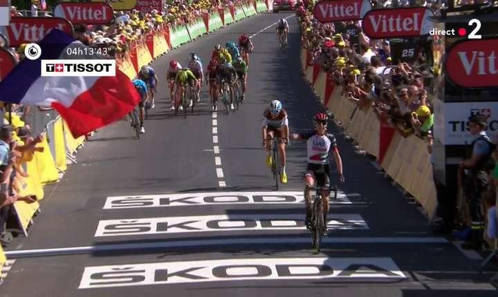 Dan Martin câștigă la Mur de Bretagne