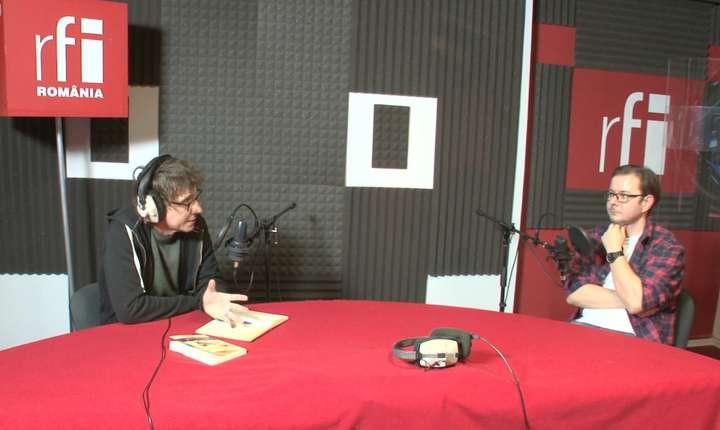Dan Pârvu si Cosmin Ciotloș in studioul RFI Romania