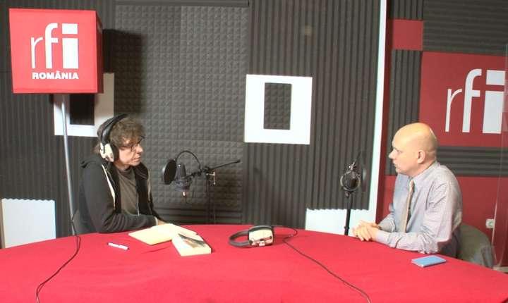 Dan Pârvu si Ioan Stanomir in studioul RFI Romania