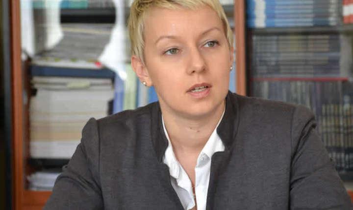Preşedintele UNJR, Dana Gârbovan (Sursa foto: www.unjr.ro)
