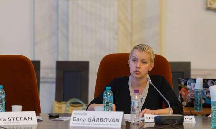 Preşedintele UNJR, Dana Gîrbovan (Sursa foto: Facebook/Dana Gîrbovan)